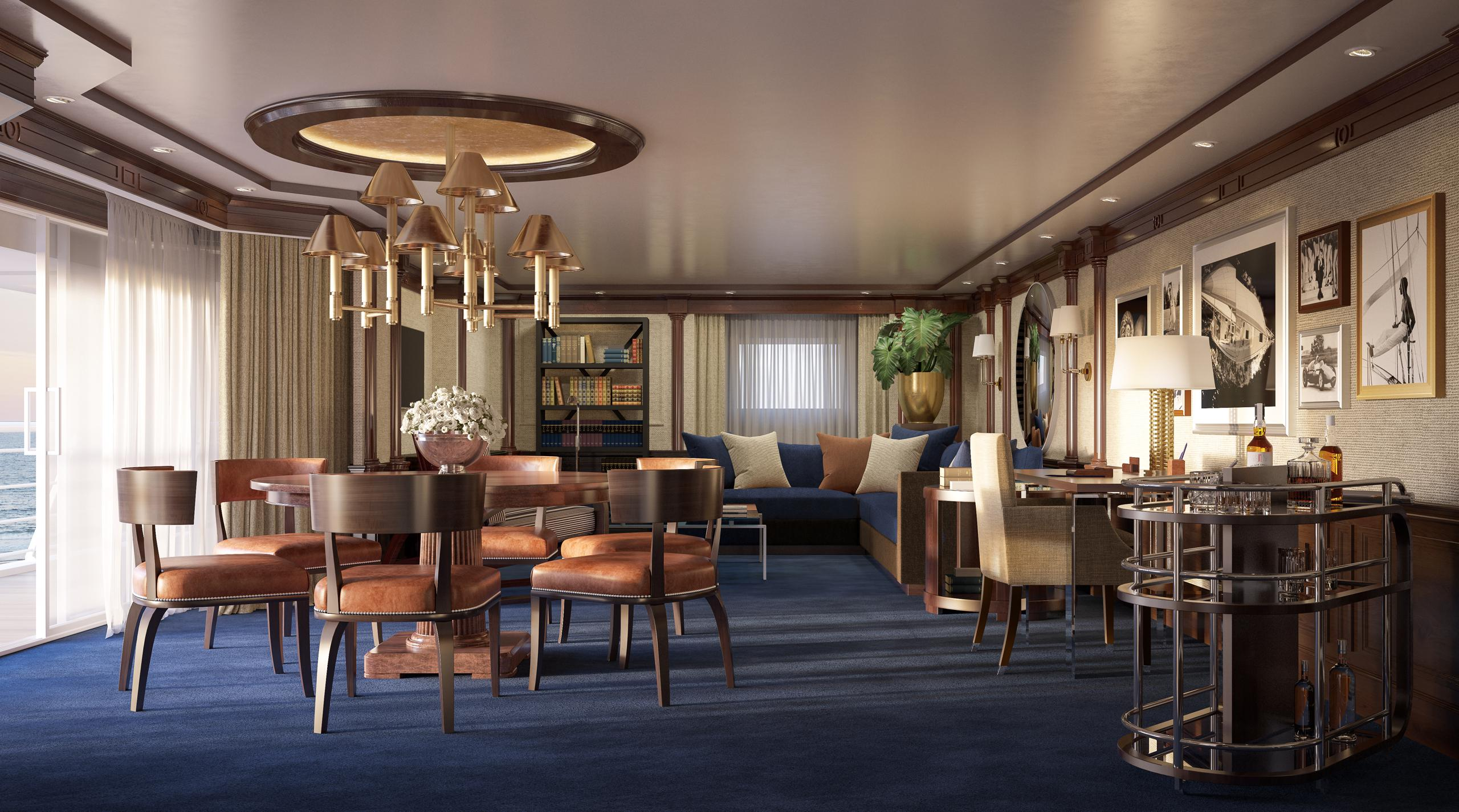 Oceania Cruises Ralph Lauren Home Owner's Suite